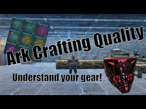 Ark: Crafting gear and how to get better quality equipment