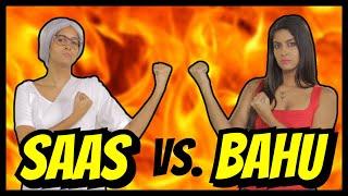 Saas VS. Bahu | Rap Battle