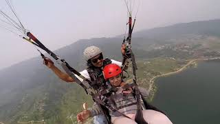 Daly life of paragliding Nepal Acro Team