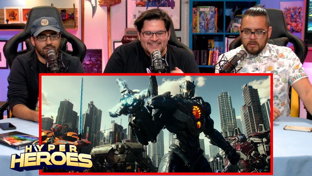 Pacific Rim Uprising – Official Trailer Reaction