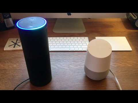Why I choose Amazon Alexa (Echo) above Google Home. A UK guy review...