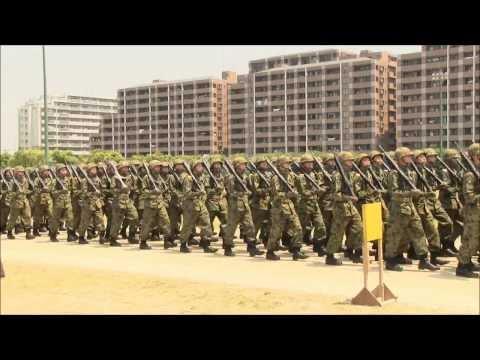 陸上自衛隊第4師団 「抜刀隊」 2012年05月27日(日)