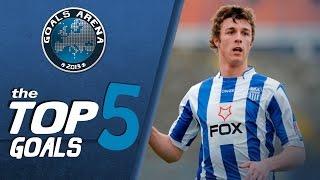 TOP 5 GOALS 20 kolo JSL 2013 14