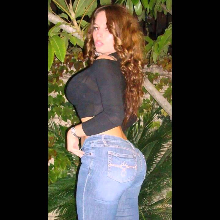 Tight jeans latina milf