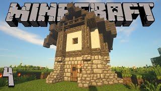 Minecraft | 4 | First House, First Diamonds