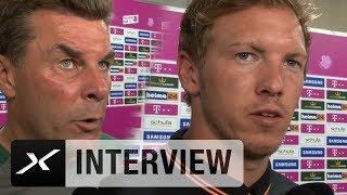Dieter Hecking und Julian Nagelsmann loben James-Rodriguez-Transfer | FC Bayern München