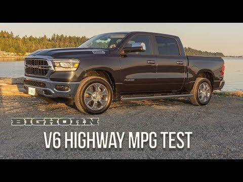 2019 Ram 1500 Big Horn 4X4 3.6 Pentastar V6 Highway MPG Test