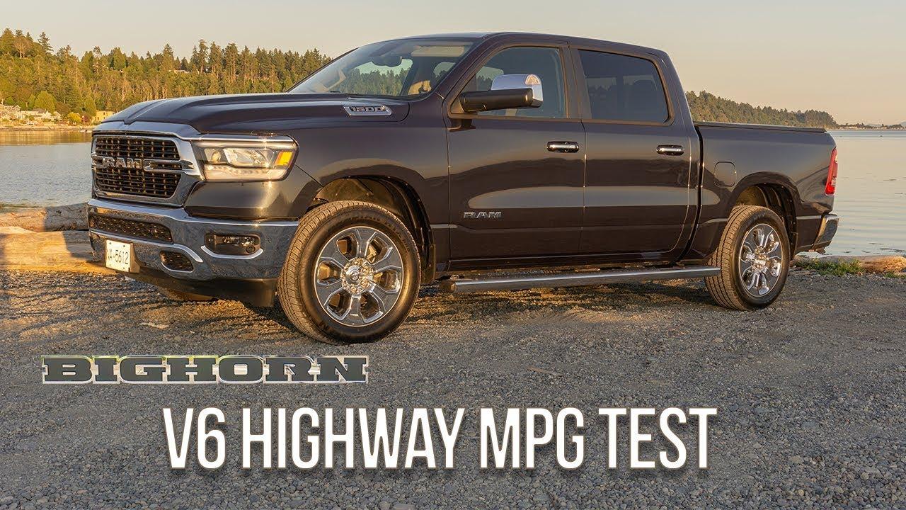 Ram 1500 Mpg >> 2019 Ram 1500 Big Horn 4x4 3 6 Pentastar V6 Highway Mpg Test