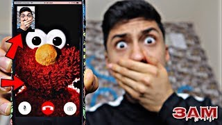 DO NOT FACETIME ELMO AT 3AM!! *OMG HE CAME TO MY HOUSE*