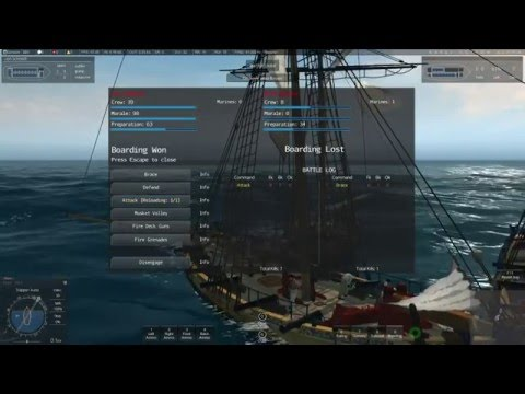 Naval Action - Capturing Trader Lynx (Loud)