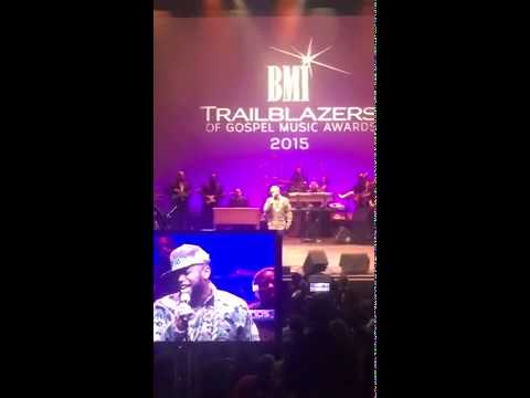 Anthony Williams #Tonex #BSlayed Singing I Know I've Been Changed #Atlanta #BMIGospelAwards2015