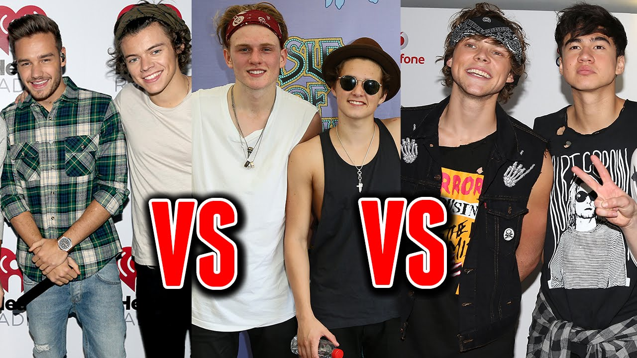 One Direction Losing Fans to 5SOS & The Vamps? - YouTube  5sos With Fans 2014