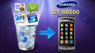 How to Recover Deleted Videos/Contacts/SMS/Photos from Samsung Wave GT S8500?