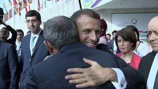 Նիկոլ Փաշինյանը հրաժեշտ տվեց Ֆրանսիայի նախագահ Էմանուել Մակրոնին