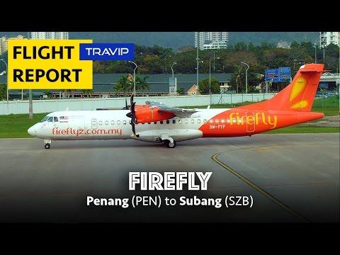 Firefly Flight Review: Penang to Subang