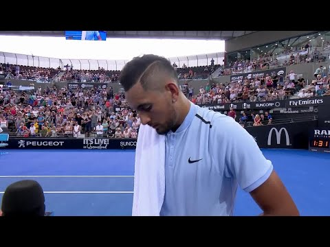 Nick Kyrgios On-Court Interview (QF) | Brisbane International 2018