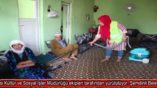 Şemdinli Belediyesinden yaşlı ve engelilere evde bakım hizmeti