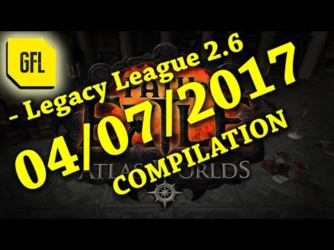 Path of Exile 2.6: 04/07/2017 RIP, Close Calls, Funny, Lucky & Unlucky Stuff on Twitch +2WRace