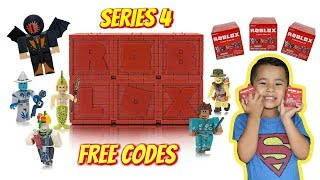 ROBLOX Series 4 BLIND BOXES, FULL BOX, FREE ROBLOX CODES GIVEAWAY