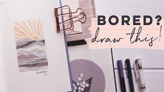 Creative Art Ideas for When You're Bored!!