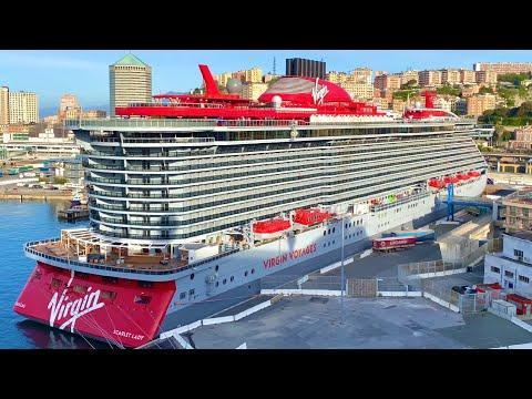 Scarlet Lady Cruise Ship Preview 4K