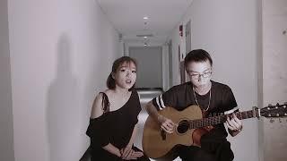 """Em gái Mưa ( Hương Tràm ) - Vợ chồng Tùng Acoustic Dương Thùy """"Ngân Chíp"""" ( cover )"""