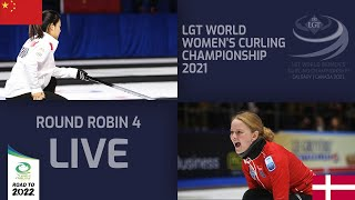 China v Denmark Round Robin LGT World Women s Curling Championship 2021