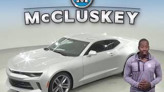183573 - New, 2018, Chevrolet Camaro, Coupe,Silver Test Drive, Review, For Sale -