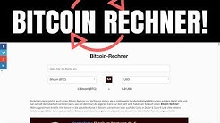 Bitcoin Rechner - Der Beste BTC Rechner auf dem Markt - Tutorial