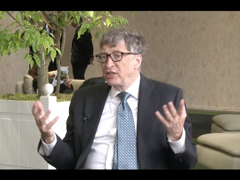Innovation Needed in Energy to Solve Climate Change Issues:Bill Gates