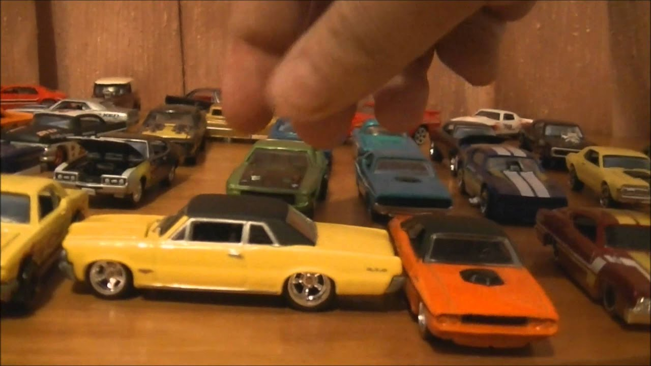 Hot Wheels Muscle Cars And Hot Rods Collection Matchbox Cars Youtube