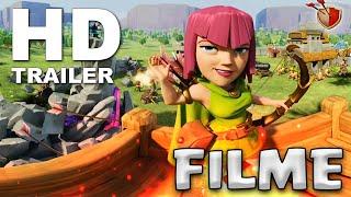 CLASH OF CLANS FILME HD + ANIMAÇÕES 360° | Clash of Clans