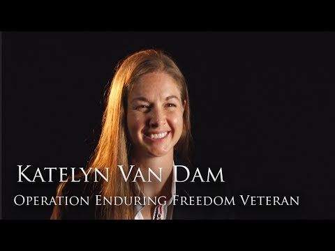 Full Interview: Major Katelyn Van Dam