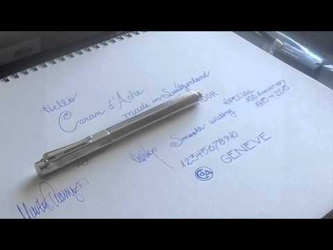Caran d'Ache Ecridor Fountain Pen