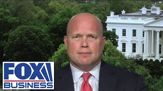 Matthew Whitaker reacts to Amy Coney Barrett's confirmation hearings