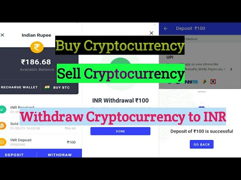 coinswitch kuber crypto exchange to INR 2021/how to buy, sell bit coins//coinswitch app loot2021