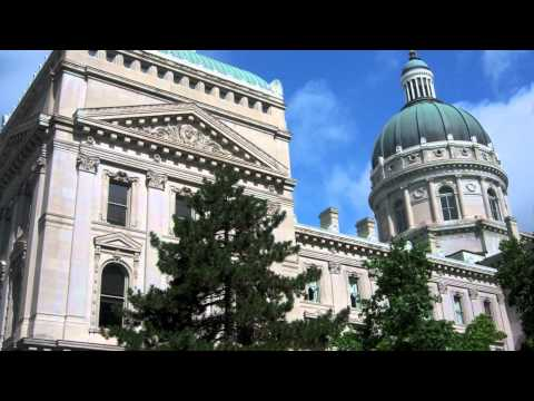 Indiana Statehouse in Indianapolis