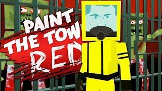 ПОБЕГ ИЗ БУНКЕРА С ЗОМБИ! PAINT THE TOWN RED ОБЗОР КАРТ И МОДОВ! ПЕЙНТ ЗЕ ТАУН РЕД ПРОХОЖДЕНИЕ!