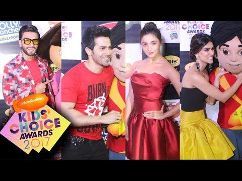 Nickelodeon Kids Choice Awards 2017 India With Alia Bhatt, Varun Dhawan, Kriti Sanon, Ranveer Singh