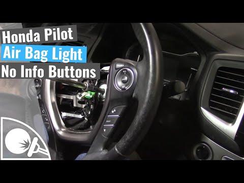 Honda Pilot - Air Bag Light On