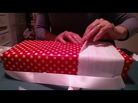 ASMR/NO TALKING -wrapping with paper and tissue paper
