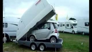 Smart-Pod Covered Trailer