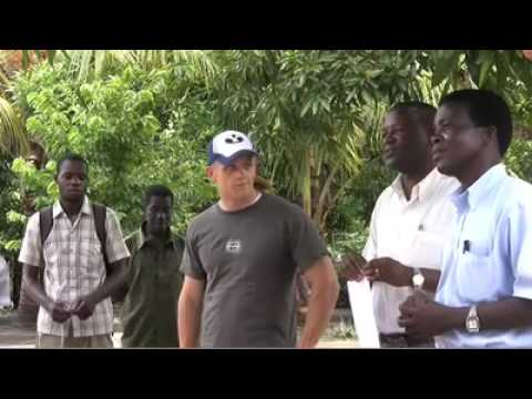 Using termites to build solid structures in Mozambique
