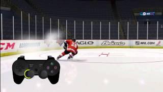 NHL 13 — учимся правильно ездить на коньках