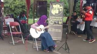 Download Mp3 Cewek Berjilbab Main Gitar
