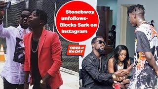 Stonebwoy Unfollows/Blvcks Sarkodie On Instagram