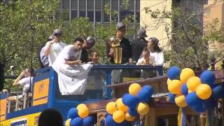 Golden State Warriors Parade ¦ Championship Celebration ¦ June 19, 2015