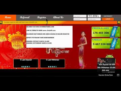 rimbapoker poker online indonesia terbaru deposit bonus