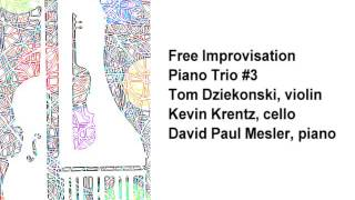 Piano Trio #3 -- Tom Diekonski, Kevin Krentz, David Paul Mesler (free improvisation)