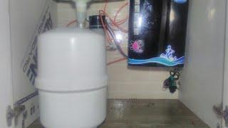 بعض النصائح الخاصة لتركيب صفر ب المطبخ زميله تنقية المياه من المياه RO الدعم.